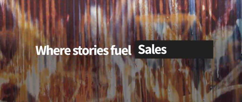 Stories Rule where stories fuel sales