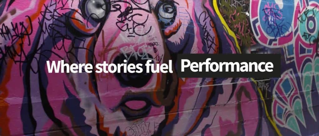 Stories Rule where stories fuel performance